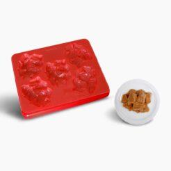 Smoothfood Silikonform Gulasch mit Deckel