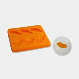 Smoothfood Silikonform Kürbis mit Deckel (6 Nutzen)