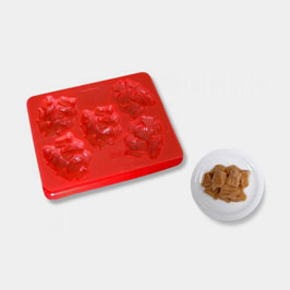 Smoothfood Mold Meat Cubes with lid