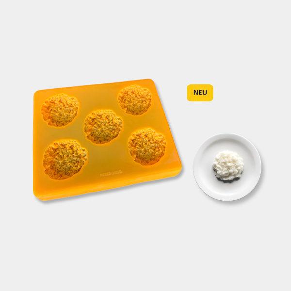Smoothfood Silikonform Reis mit Deckel (5 Nutzen)