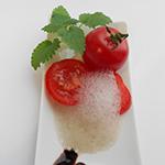 Tomato-Basilikum-Schaum – molekularer Art