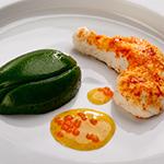 Hähnchenschenkel mit Currrysoße und Brokkoli